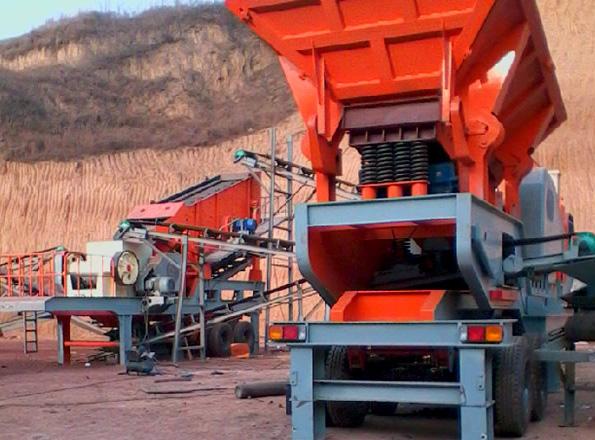 安徽滁州轮胎移动破碎站